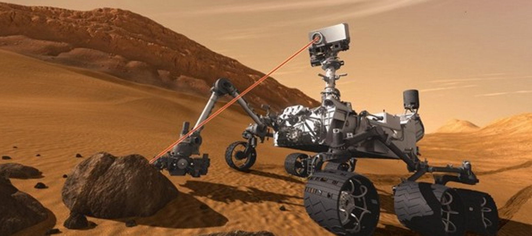 CILAS has designed and manufactured coatings on the ChemCam instrument on Curiosity rover